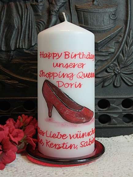 Geburtstagskerze