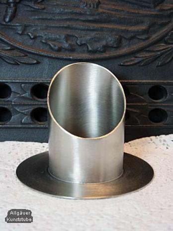 Röhrenkerzenständer 60 mm silber