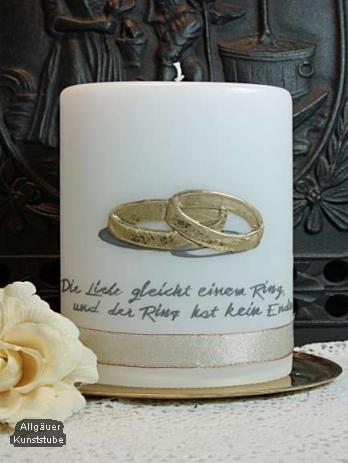 Hochzeitskerze Natascha