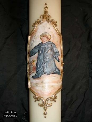 Jubiläumskerze Ägidius