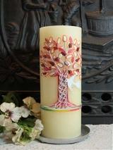 Taufkerze Joy mit Baum