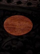 Kerzenteller Harry Holz dunkel