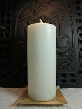 Altarkerze 300 x 100 Elfenbein