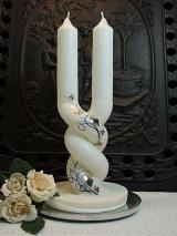 Extravagante Hochzeitskerze Sissi