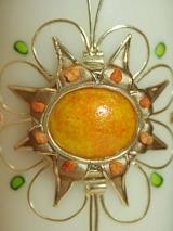 Hochzeitskerze Nelly mit Ornament