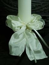 Kerzenmanschette Elisabeth/ elfenbein
