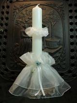 Kerzenmanschette Emmi mit Tropfschutz