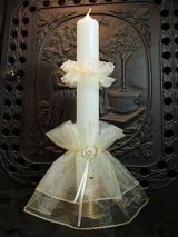 Kerzenmanschette Franka mit Tropfschutz