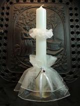 Kerzenmanschette Helene mit Tropfschutz