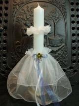 Kerzenmanschette Katharina mit Tropfschutz