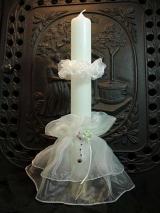 Kerzenmanschette Lora mit Wachstropfschutz