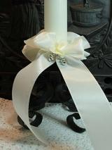 Kerzenmanschette Lore/ Elfenbein