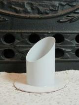 Kerzenständer Susi/ weiß/35