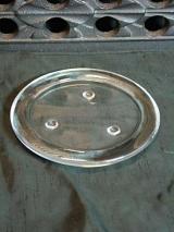 Kerzenteller Elfriede / Glas