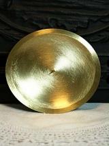 Kerzenteller Marie/Gold