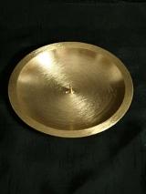 Kerzenteller Thomas /gold